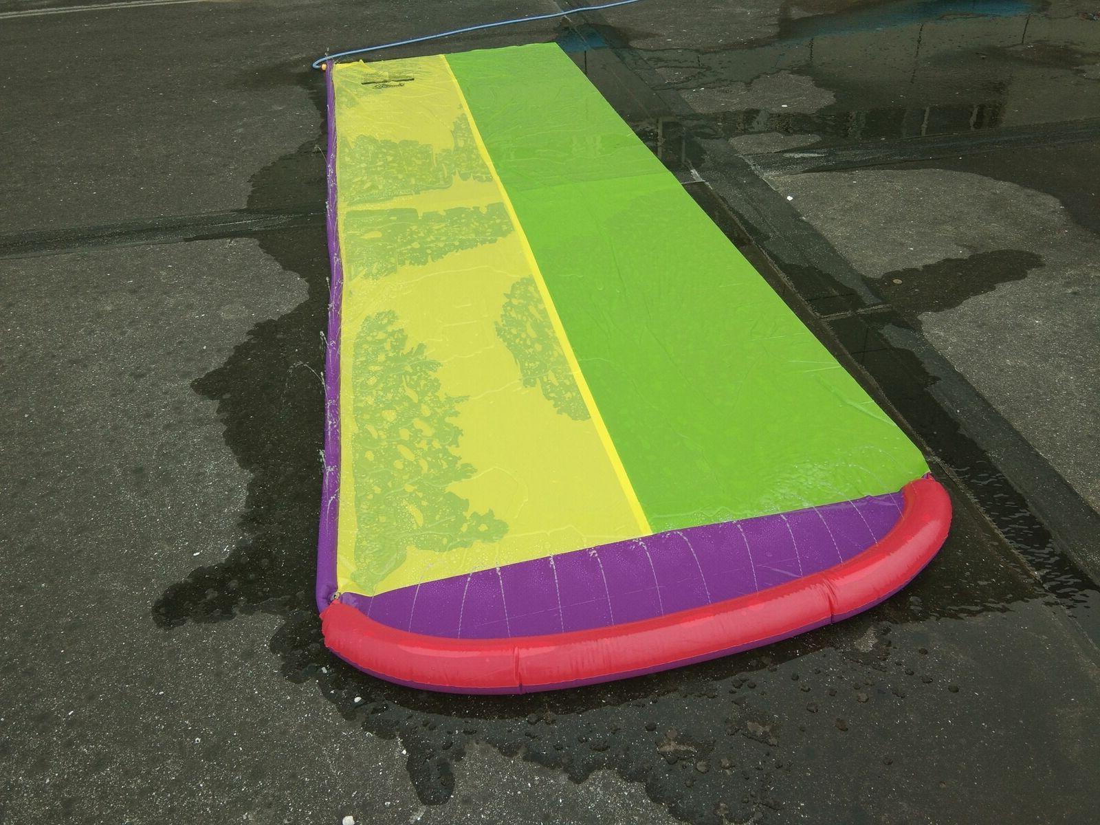 Water Lawn Water Slides Children Kids backyard