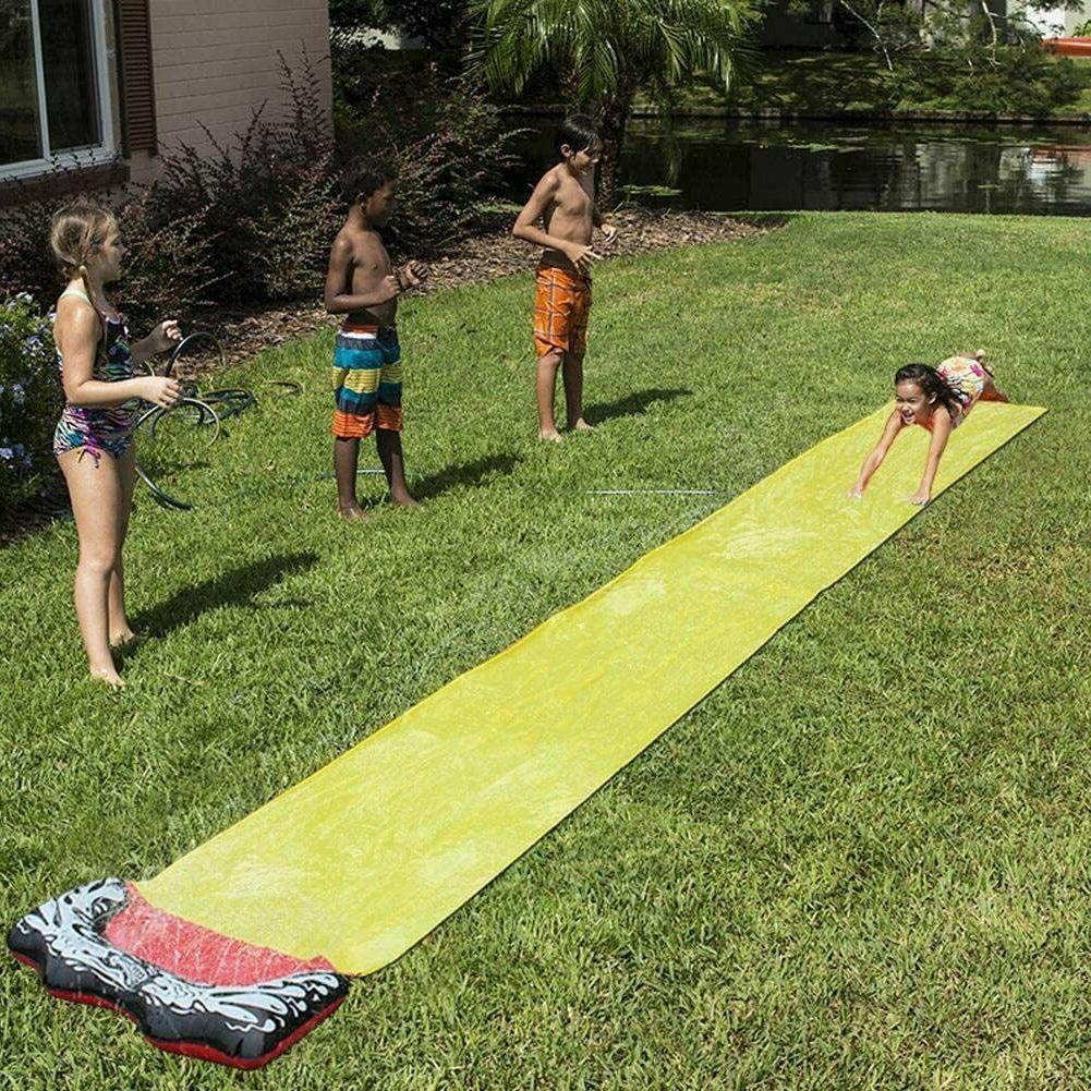 Lawn and Slide Crash and for