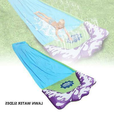 Lawn Slides Splash Crash