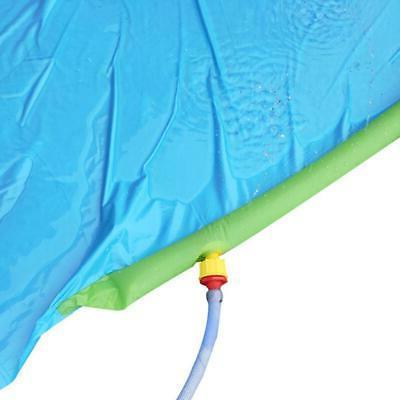 Lawn Water Slides With Splash Crash Pad For