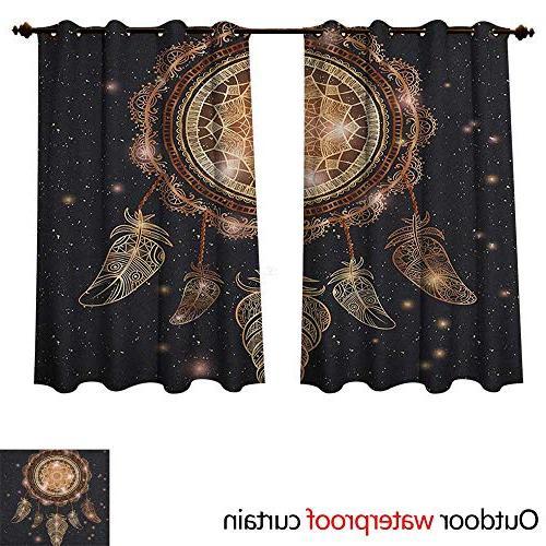 mandala curtains