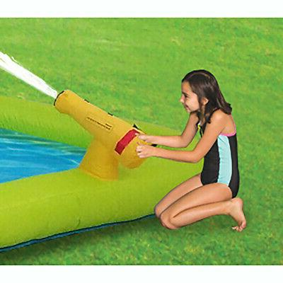 Kahuna Mega Backyard Pool Slide Water
