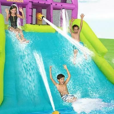 mega blast inflatable backyard kiddie pool