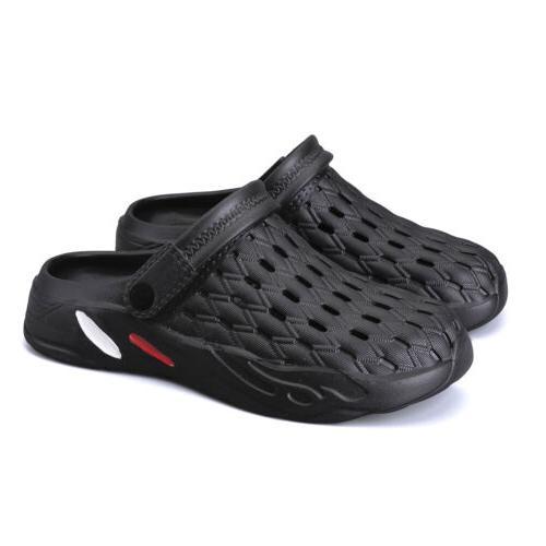 men clogs water shoes garden sandals summer