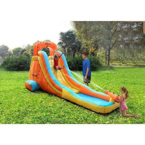 my first inflatable water slide include electric