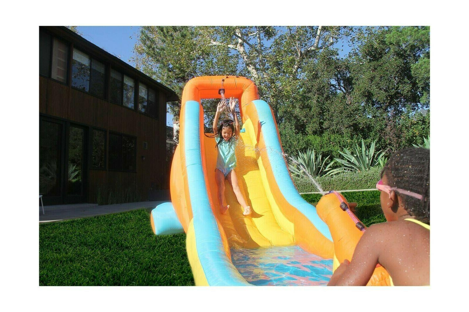 my first inflatable water slide heavy duty