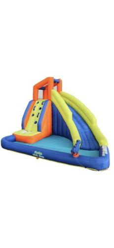 My First Waterslide Splash and Slide inflatable water park.
