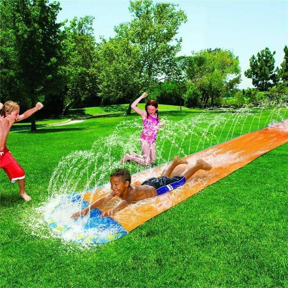 N/Y 19Ft Double Slide For Lawn Water Slip