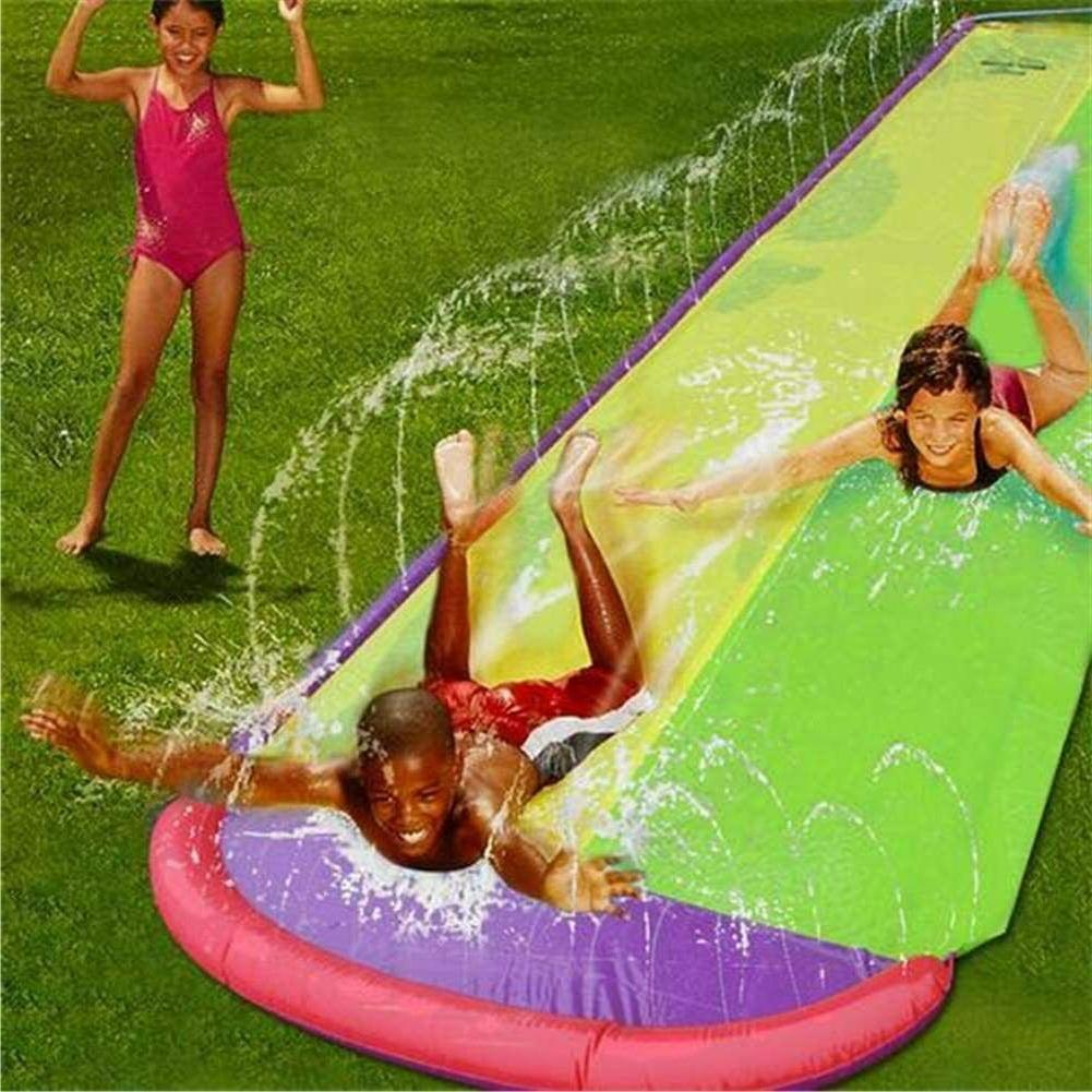 15.7 Water Slides, Center Splash and