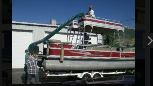 NEW 10ft slide Works boat water slide