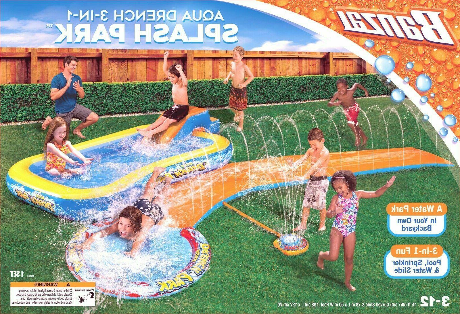 3 in 1 aqua water drench splash