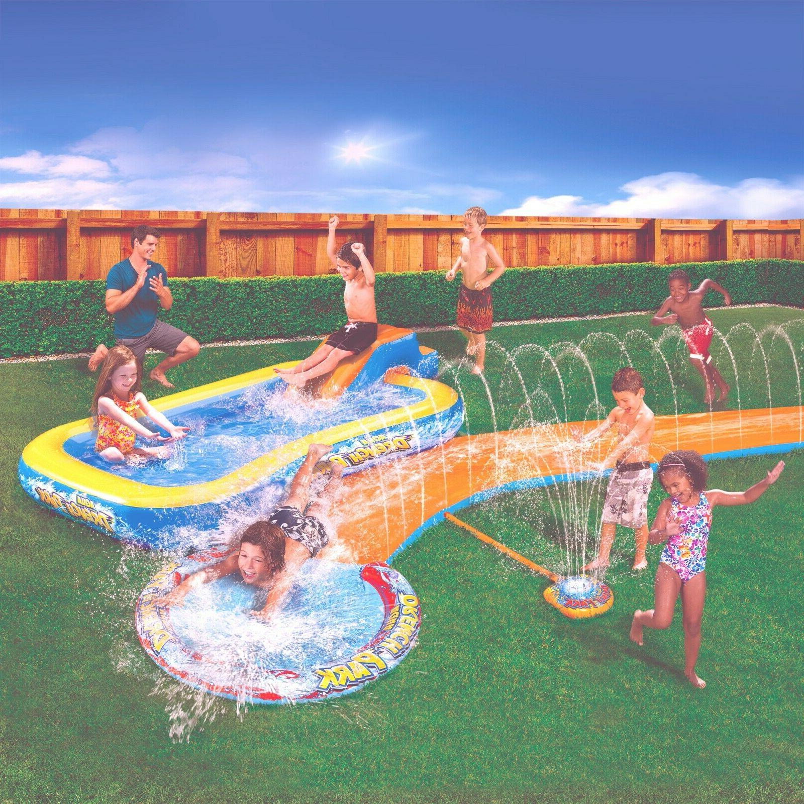 New Banzai Aqua Water Drench Splash w/ Water Inflatable