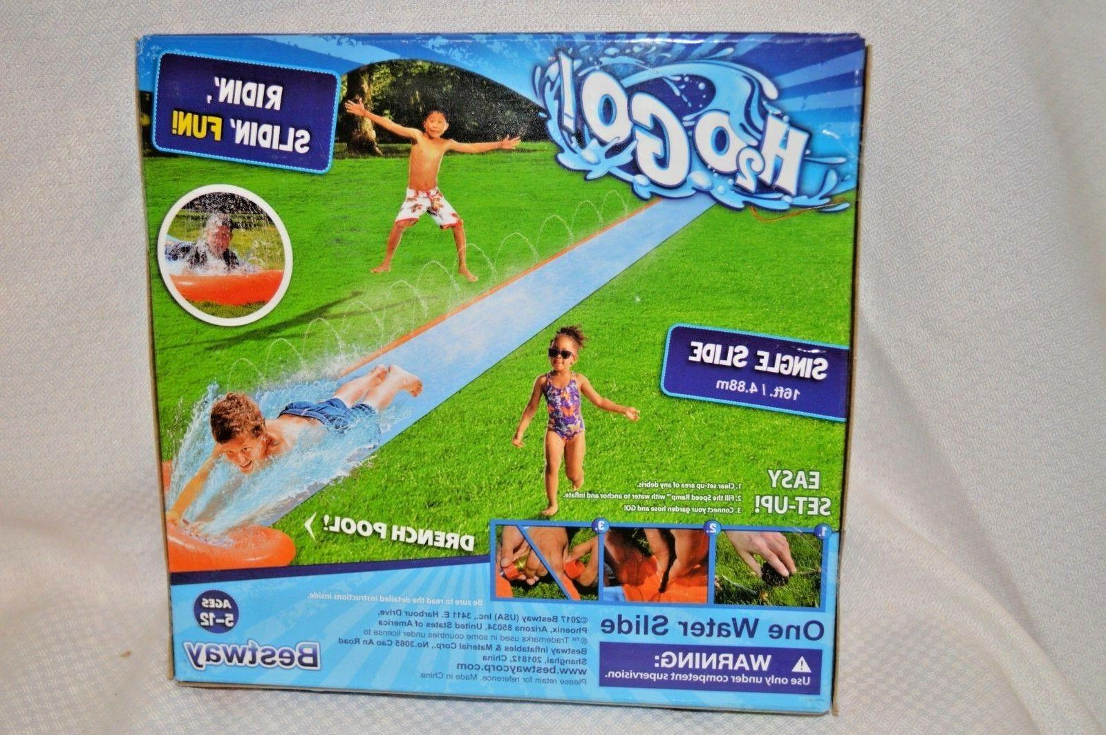 new h2o go water slide ages 5