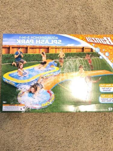 Drench Splash Sprinkler Slide Pool