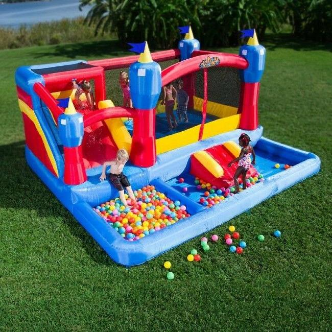 new inflatable bounce house misty kingdom inflatable