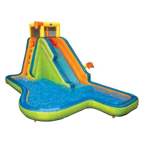 Banzai 35076 Slide 'N Soak Inflatable Splash Park