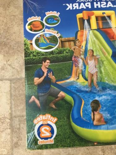 NEW Banzai Slide N Soak Splash Inflatable Outdoor Center