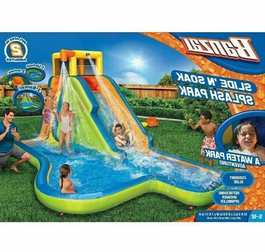 new model slide n soak splash park
