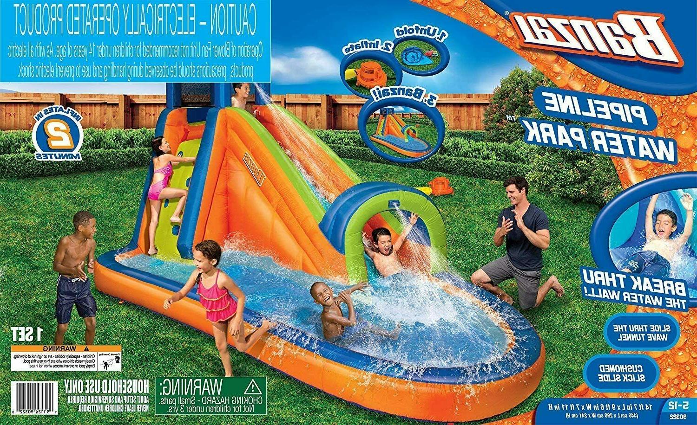 Banzai Pipeline Waterpark Inflatable Jumper Bouncer Slide Wa