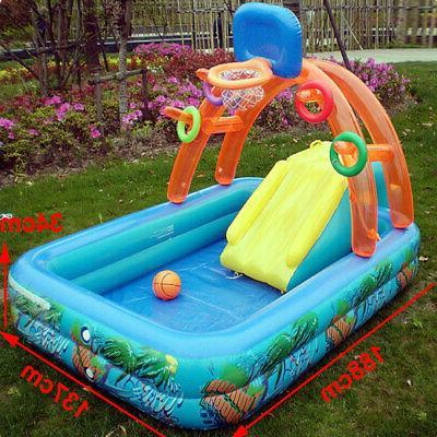 New Children Slides Inflatables Pools For Kids