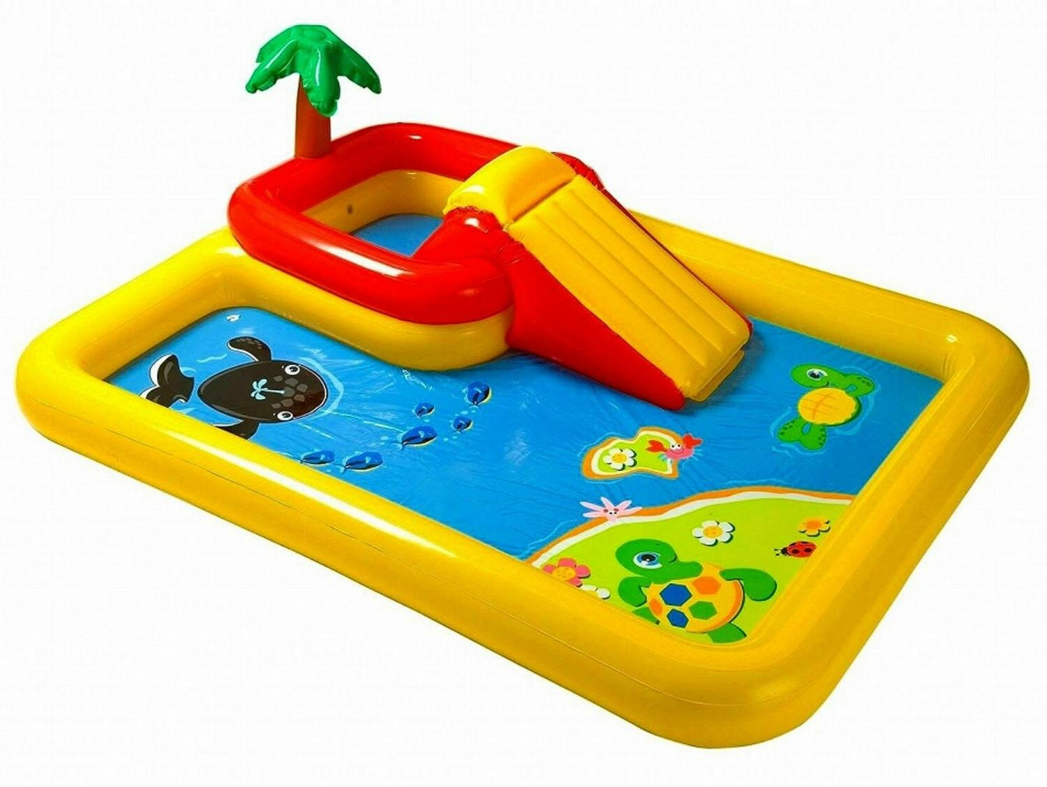 ocean play center inflatable outdoor yard childrens
