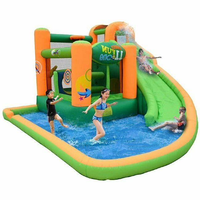 outdoor inflatable water slide bounce house bouncy