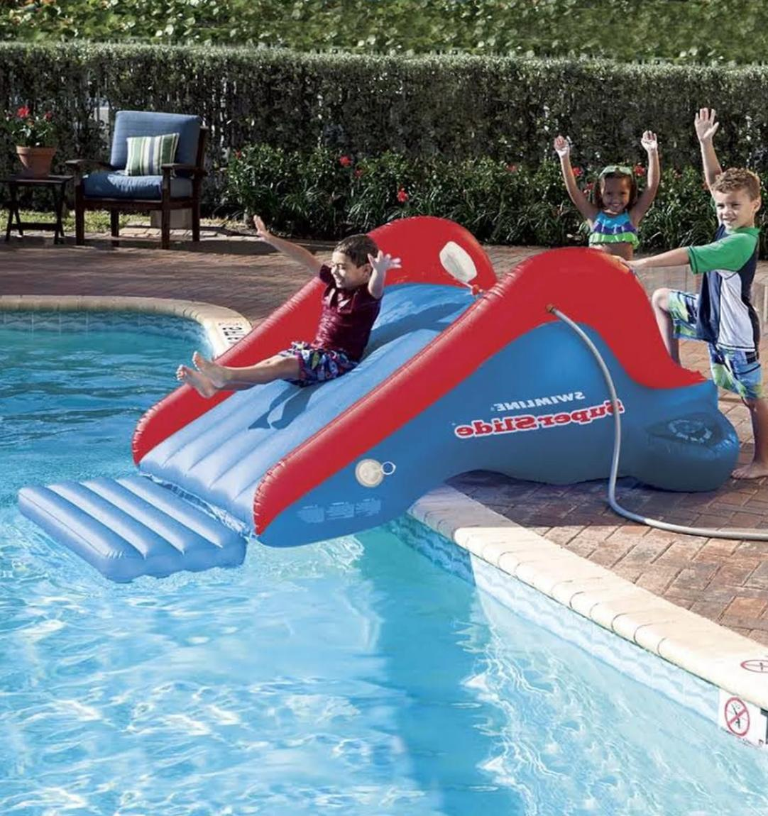 Outdoor Inflatable Water Slide for Kids Bounce Pool