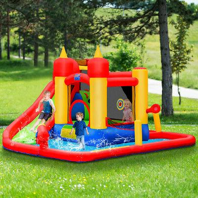Outdoor Inflatable Water Jumping Bounce Splash Park