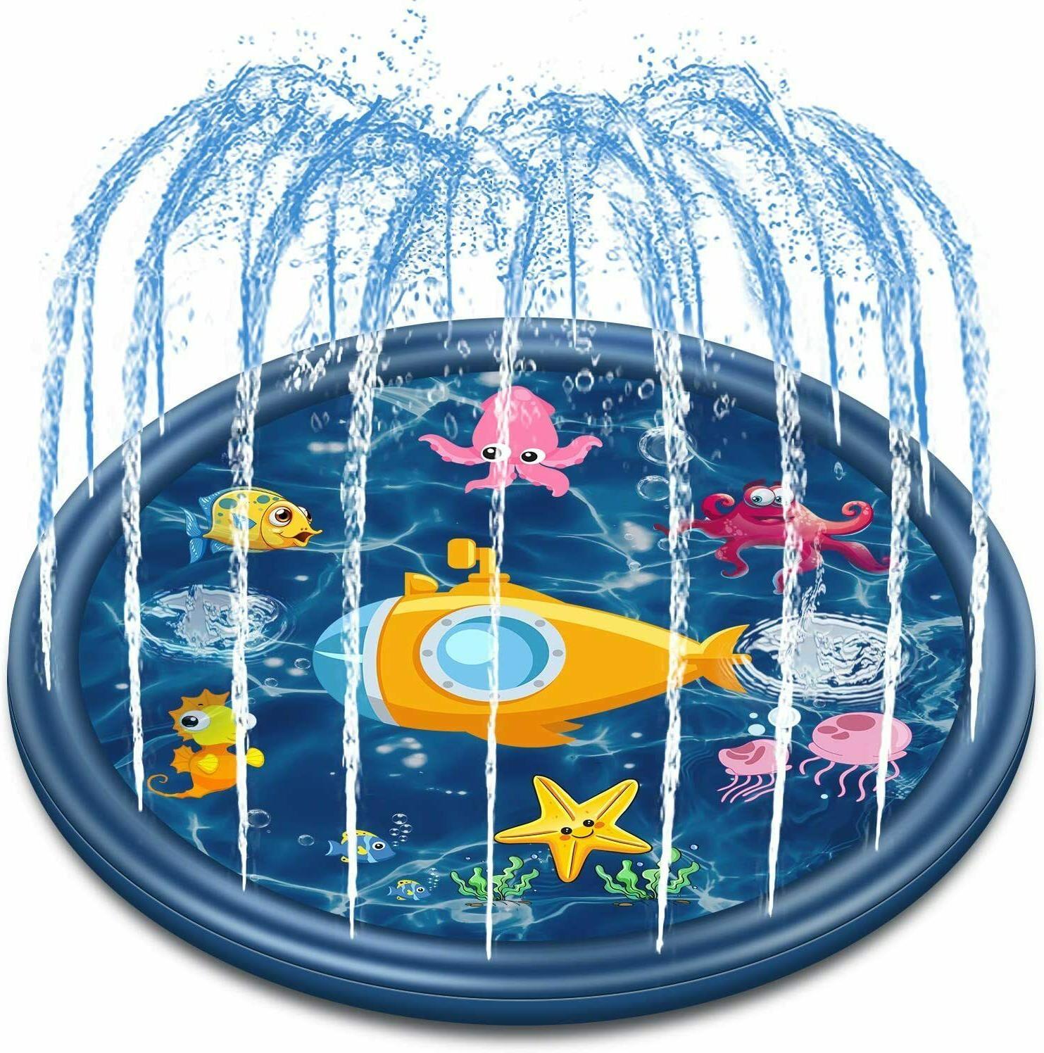 outdoor sprinkler water toys for kids