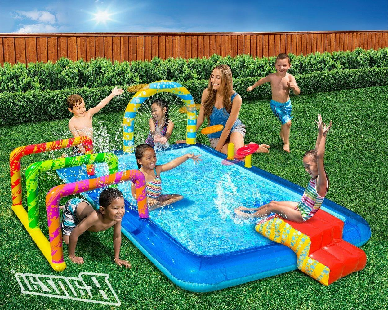 Outdoor Summer Fun Kids Slide
