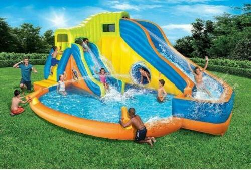pipeline twist aqua park inflatable outdoor water
