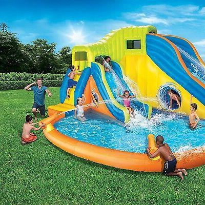Banzai Twist Water Slides