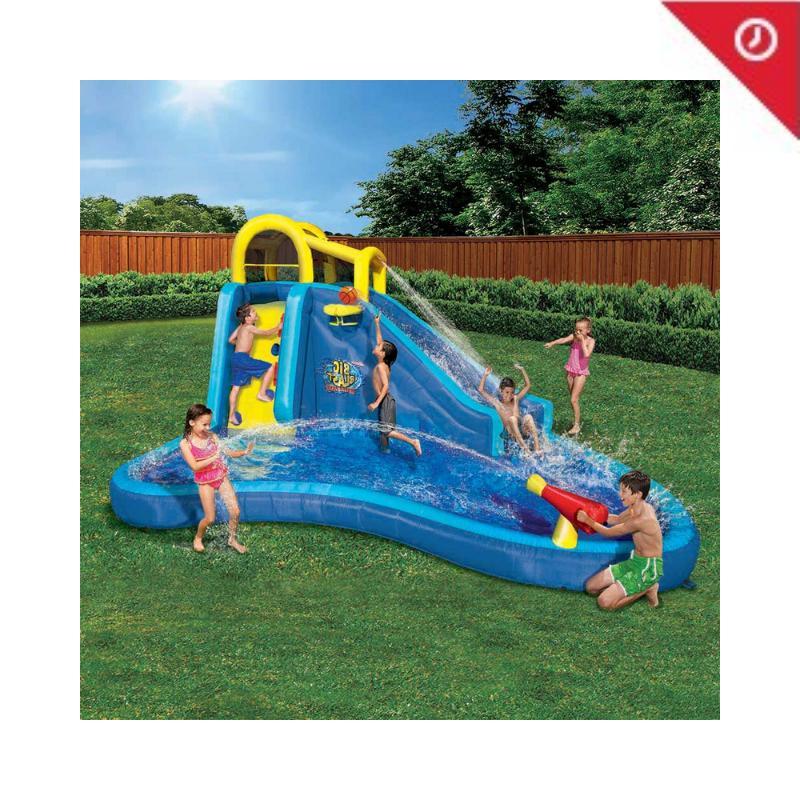 pipeline twist kids inflatable outdoor water park