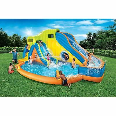 Banzai Kids Inflatable Water Pool Park and