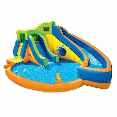 pipeline twist kids inflatable outdoor water pool