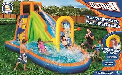 Banzai Plummet Inflatable Kids Water Slide