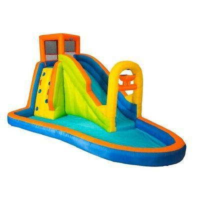 plummet falls adventure inflatable backyard kids water
