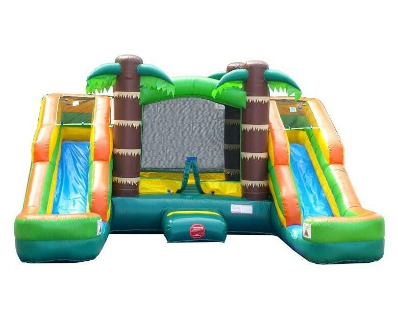 Pogo Bounce House With Water Blower