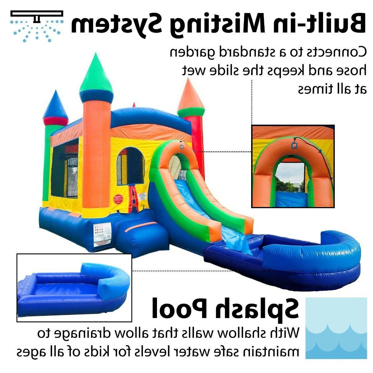 Pogo Premium Bounce House Slide Combo W/ Pool Blower