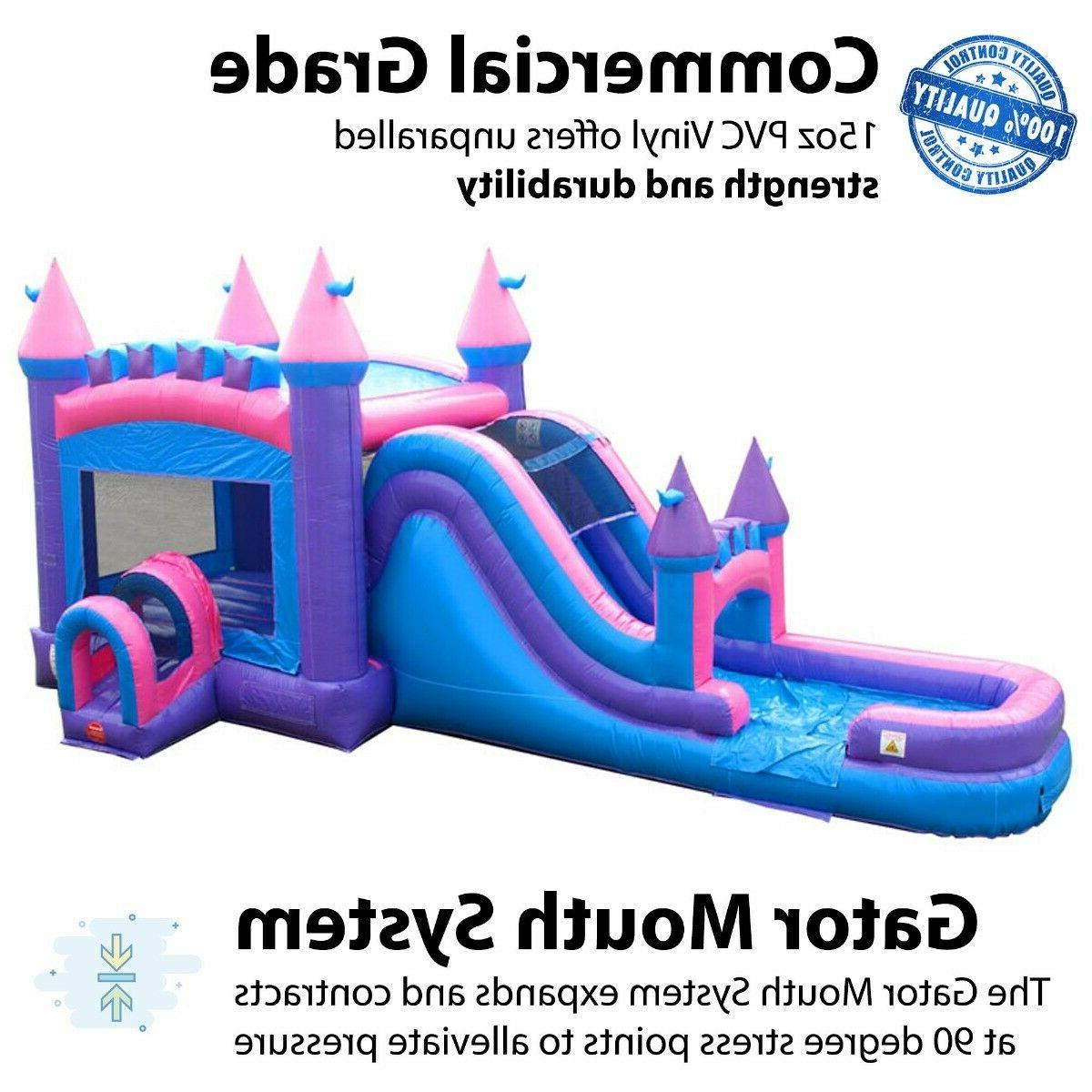Princess Commercial Inflatable Big Water Combo
