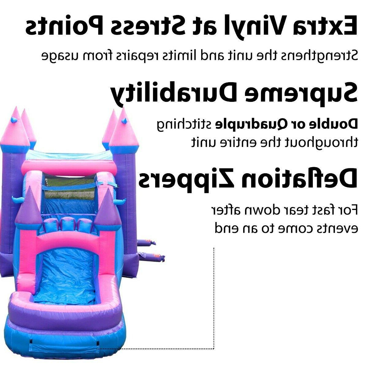 Princess Commercial Water Slide Bounce House Combo With