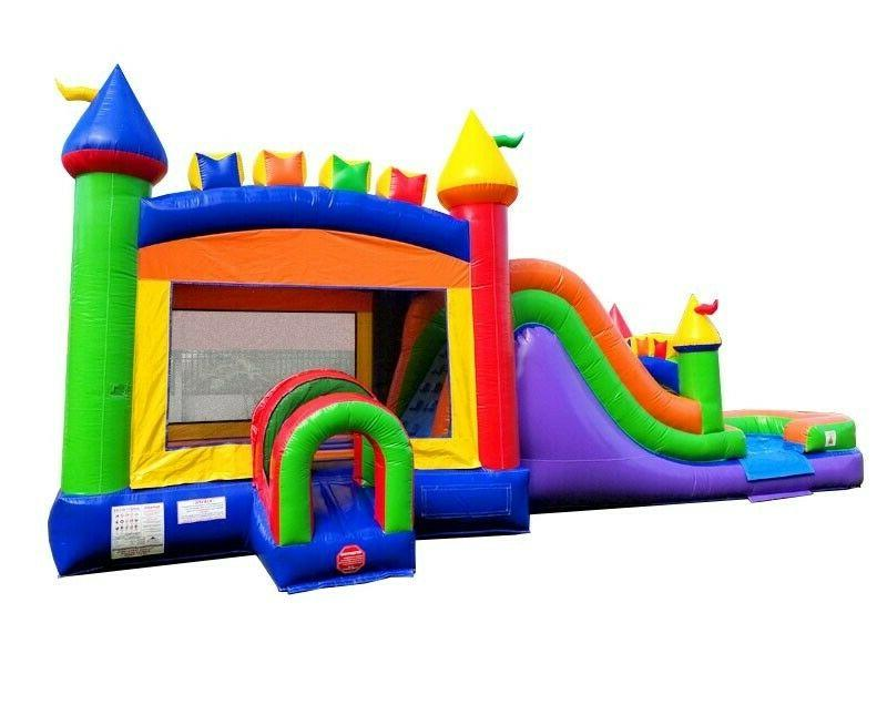 Water Bounce House Combo With