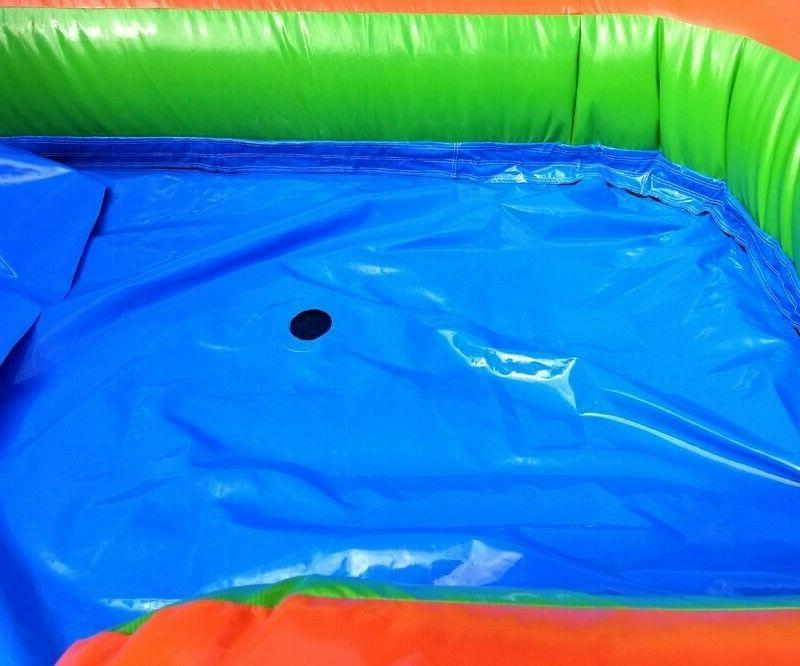Rainbow Commercial Inflatable Water Slide Bounce Combo