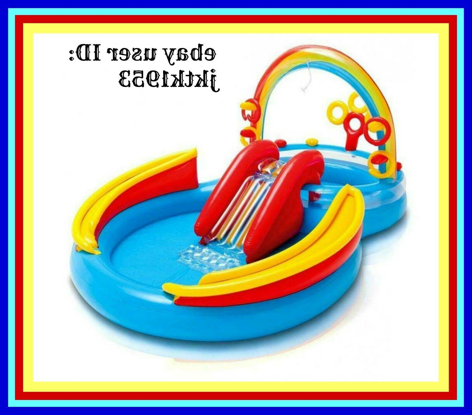 rainbow ring inflatable play center 117 x