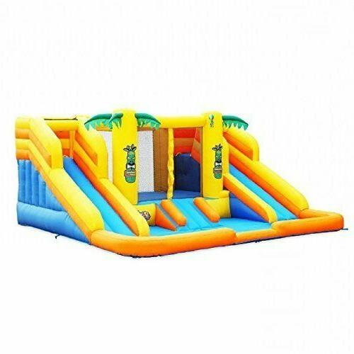 Blast Rainforest Inflatable Water Park with Slides