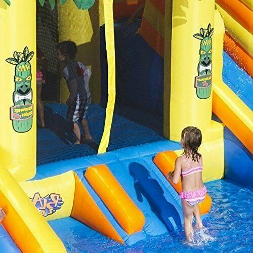 Blast Rainforest Inflatable with Slides & Blower!