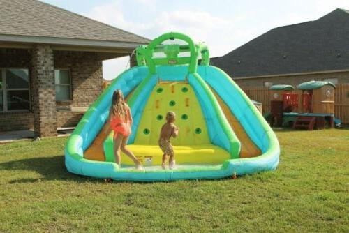 rocky mountain river race inflatable slide bouncer