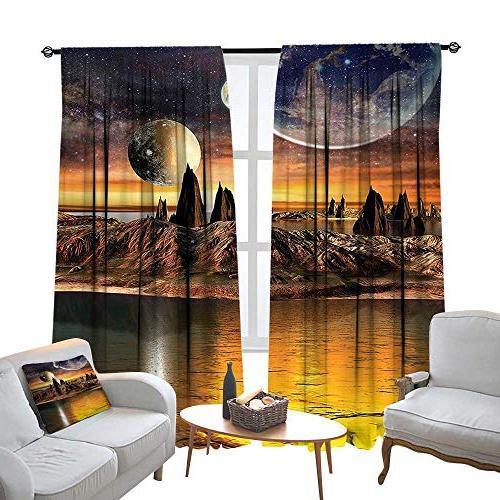 rod pocket window curtain drape