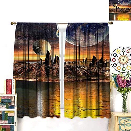 rod pocket window curtains room