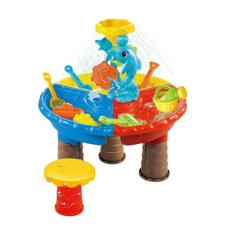 Sandbox and Water Table Beach for